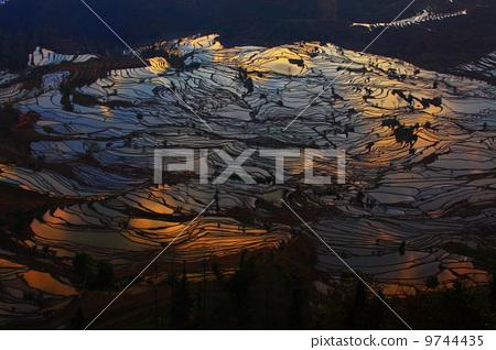 Terraced field 9744435