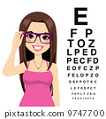 Girl At Ophthalmologist 9747700