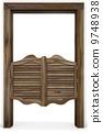 门 木头 木 9748938