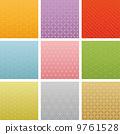 日式五颜六色的广告背景9类型 9761528