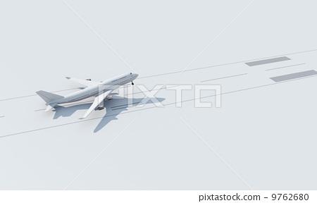 飛機起飛 9762680