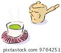 Sencha และกาน้ำชา 9764251