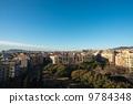 巴塞羅那鎮西班牙風景照片材料 9784348