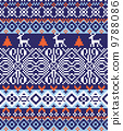 nordic pattern background 9788086