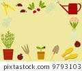 frame, gardening, rake 9793103