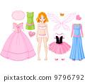 洋娃娃 裙子 女生 9796792