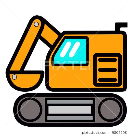 Cute shovel car in pop 9802208