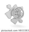 symbol, key, 3d 9803383