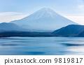 山峰 富士山 河口湖線 9819817