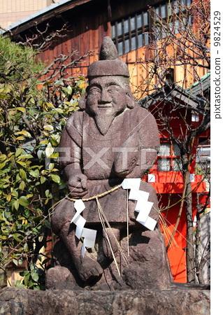 京都惠比寿神社惠比寿雕像 9824529