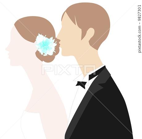 Wedding illustrations 9827301