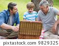 family, picnic, park 9829325