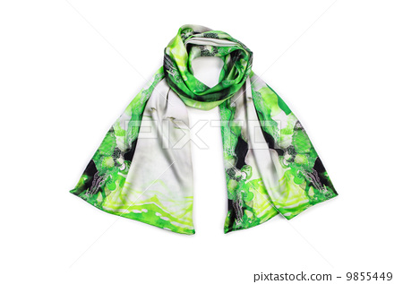 Scarf isolated on the white background 9855449