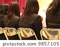 Female college students who graduate from graduation ceremony 9857105
