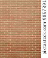 red brick wall as background or texture 9857391