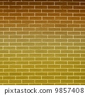 Brown brick wall as background or texture 9857408