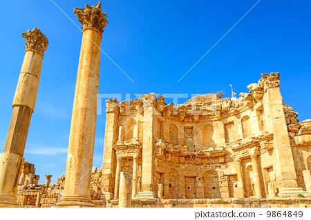 Temple of Ninfaeum (Jordan, Jellash) 9864849