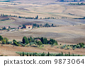 hill, tuscany, countryside 9873064
