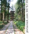 하구로 산 오층탑 국보 9876736