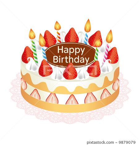 生日蛋糕 9879079
