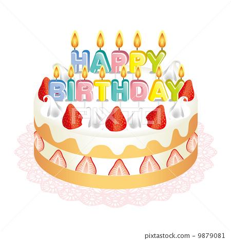 生日蛋糕 9879081