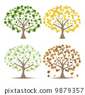 vector tree retro 9879357