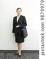 工作的女商人 9879979