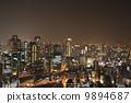 อาคารอุเมดะสกายวิวยามค่ำคืน 9894687