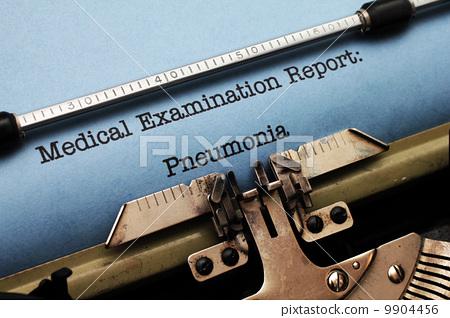 Medical report - Pneumonia 9904456