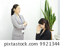工作的女商人 9921344