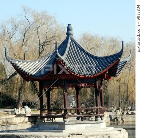 北京陶然亭公園--浸月亭 9922834