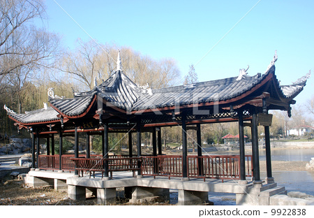 北京陶然亭公園--百坡亭 9922838