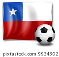 chile, soccer, flag 9934302
