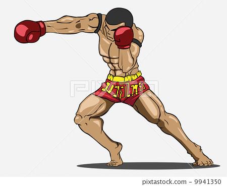Muay thai. Martial art 9941350
