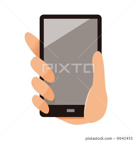 Hand with a smartphone 9942455