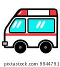 流行的可愛消防車 9944791