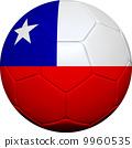chile, flag, ball 9960535