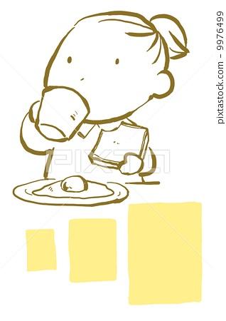 早餐(背景) 9976499