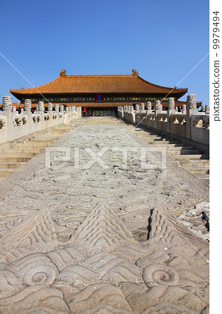 Beijing Imperial Palace Taihe Temple 9979494