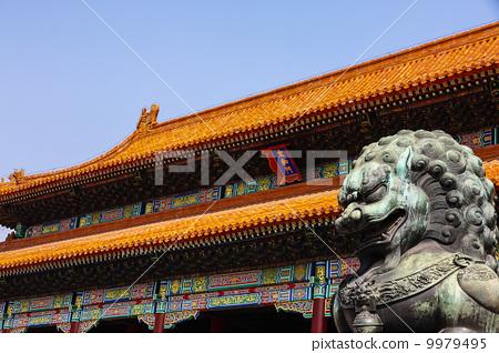 北京故宮太和殿 9979495