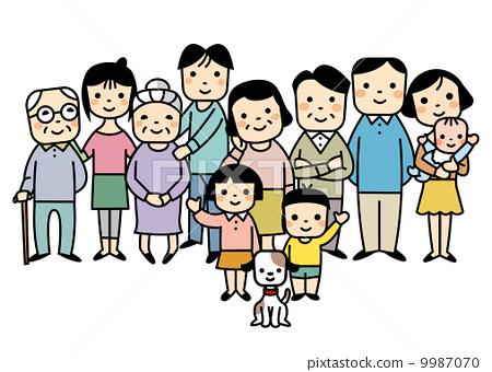 四代家庭 9987070