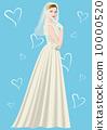 結婚禮服 婚紗 女性 10000520