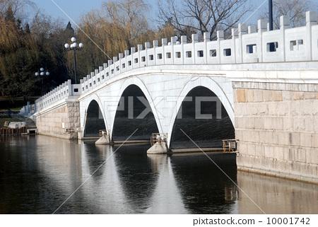北京陶然亭公園--榭湖橋 10001742