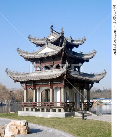 北京陶然亭公園--風雨同舟亭 10001744