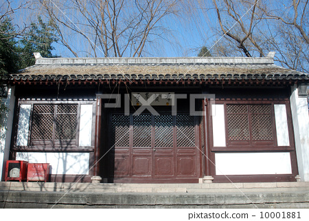 北京陶然亭公园--兰亭后堂 10001881