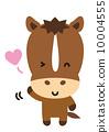 wink, horse, vectors 10004555