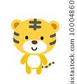 vector, vectors, tiger 10004860
