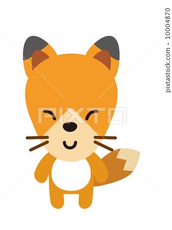 矢量 狐狸 外框 10004870