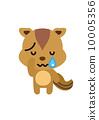 다람쥐 [등신의 동물 시리즈] 10005356