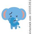 코끼리 [등신의 동물 시리즈] 10005361